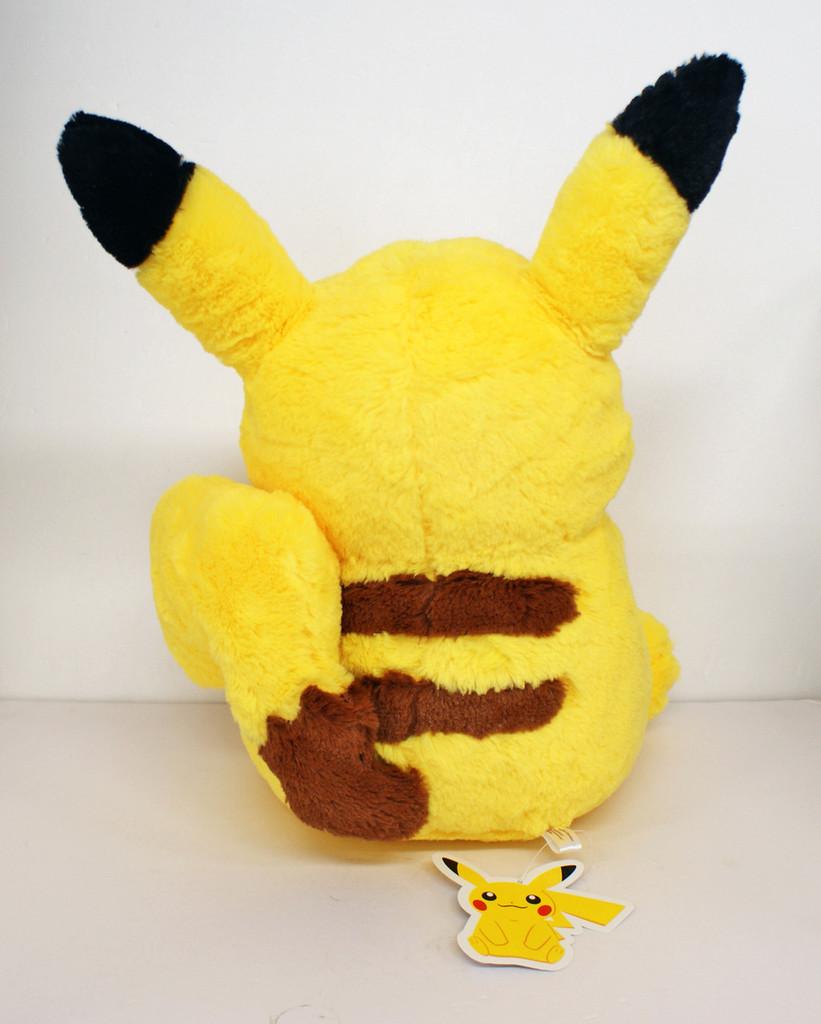 Pokemon Center Original Plush Doll Life-sized Fluffy Pikachu 425-243023