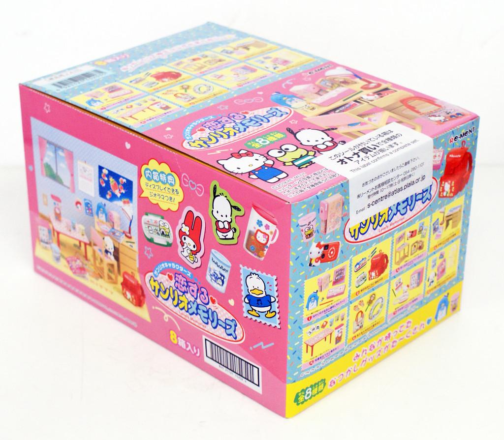 Re-ment 152028 Sanrio Lovely Memories 8 Figures Complete Set