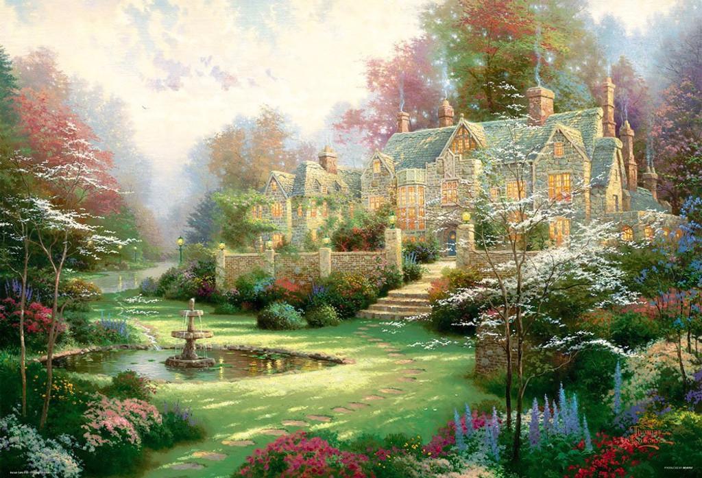 Beverly Jigsaw Puzzle 31-484 Thomas Kinkade Spring Garden (1000 Pieces)