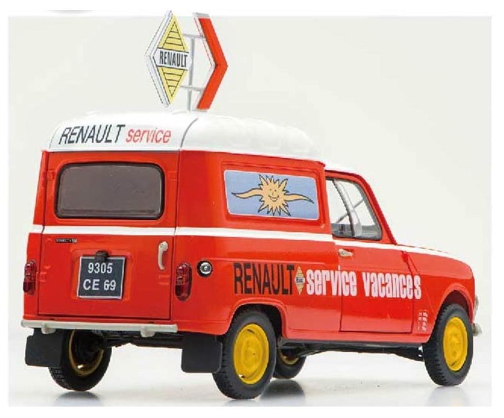 Ebbro 25012 Renault 4 Fourgonnette Service Car 1/24 scale plastic model kit