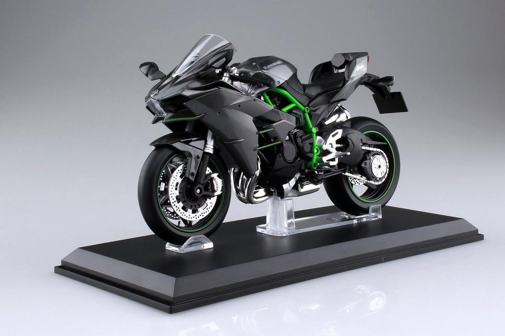 Aoshima Skynet 04569 Kawasaki Ninja H2 1/12 scale Finished Model