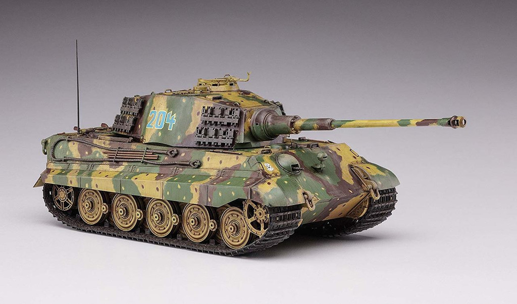 Hasegawa SP378 German Army King Tiger Henschel Turret Ardennes 1/35 Scale kit