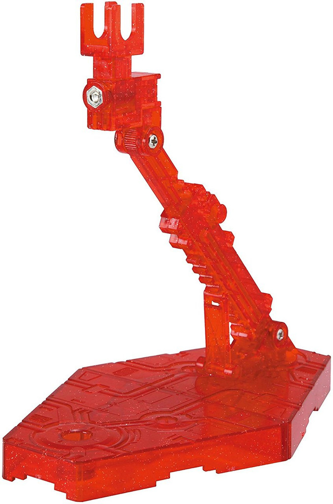 Bandai Action Base 2 Sparkle Clear Red