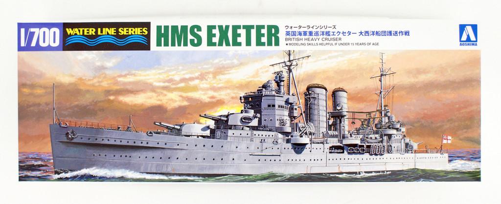 Aoshima Waterline 52723 HMS Exeter Atlantic Fleet Escort Operation 1/700 scale kit