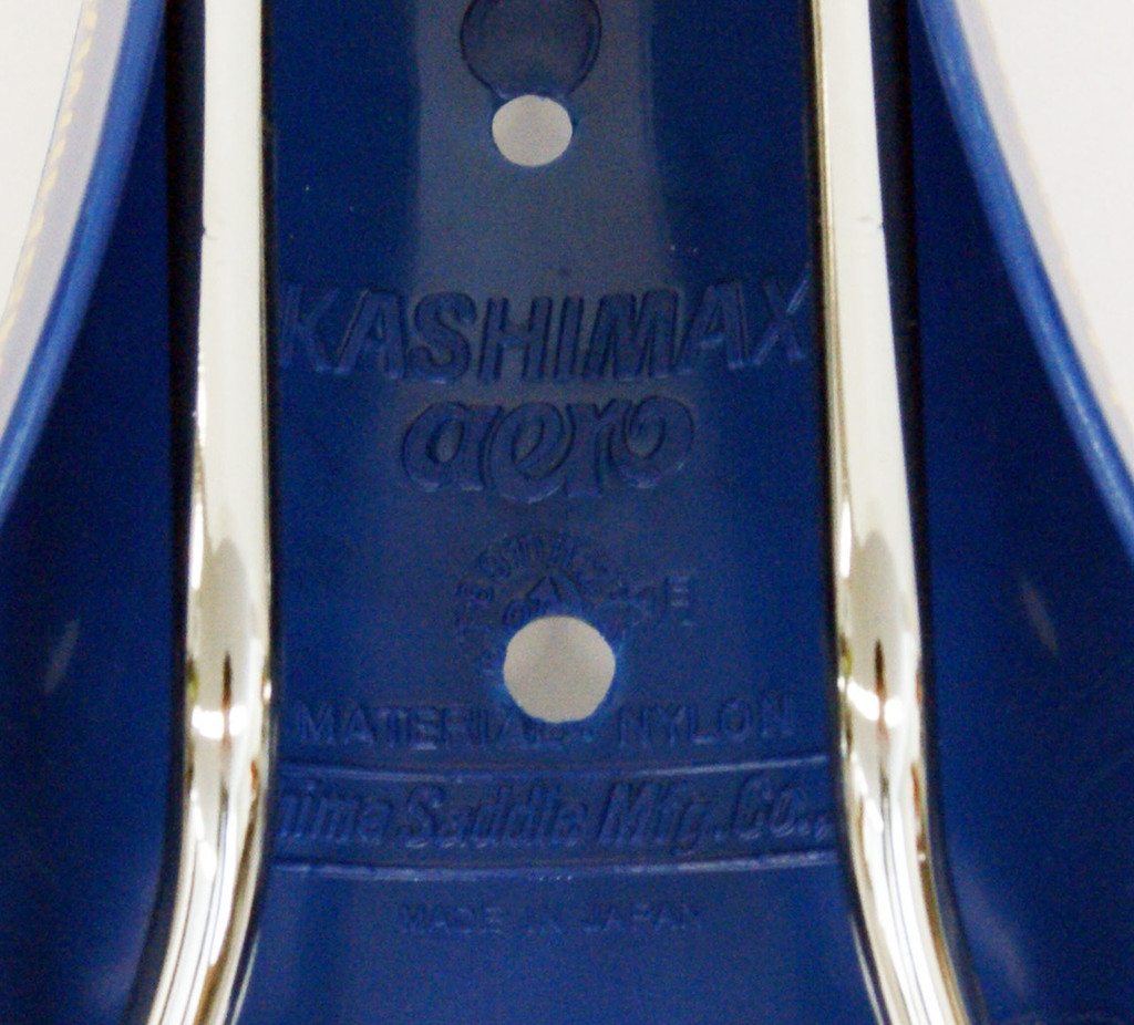 KASHIMAX AMX-C aero BMX Seat Saddle Blue