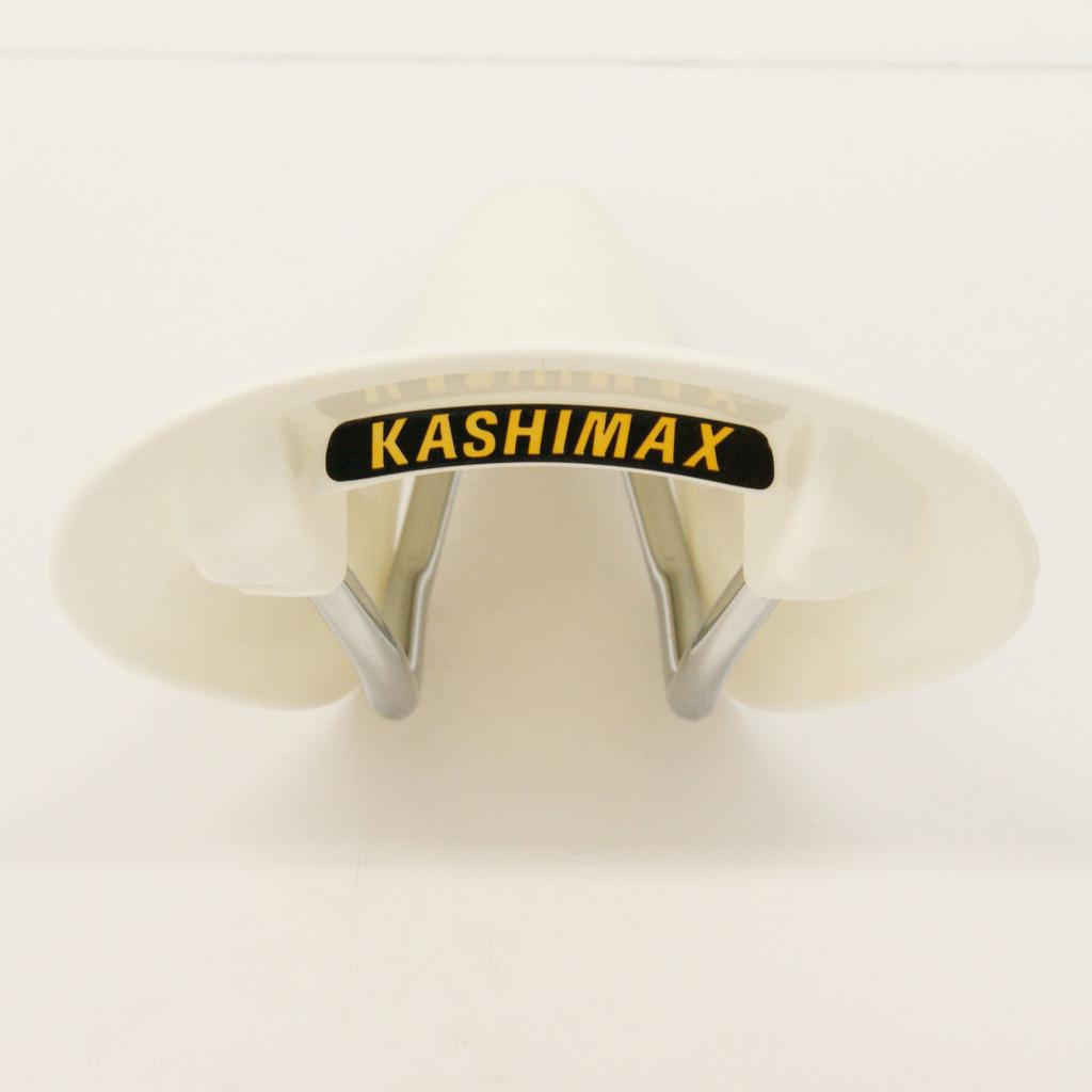 KASHIMAX AMX-C aero BMX Seat Saddle White