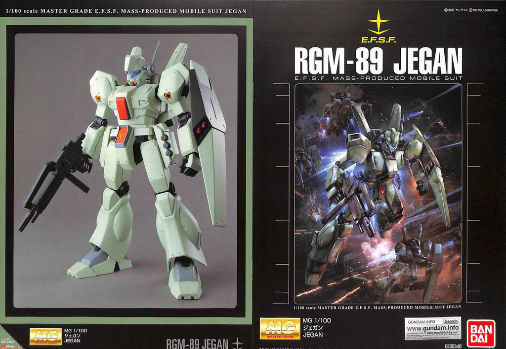 Bandai MG 303480 Gundam Char's Counterattack Jegan 1/100 Scale Kit