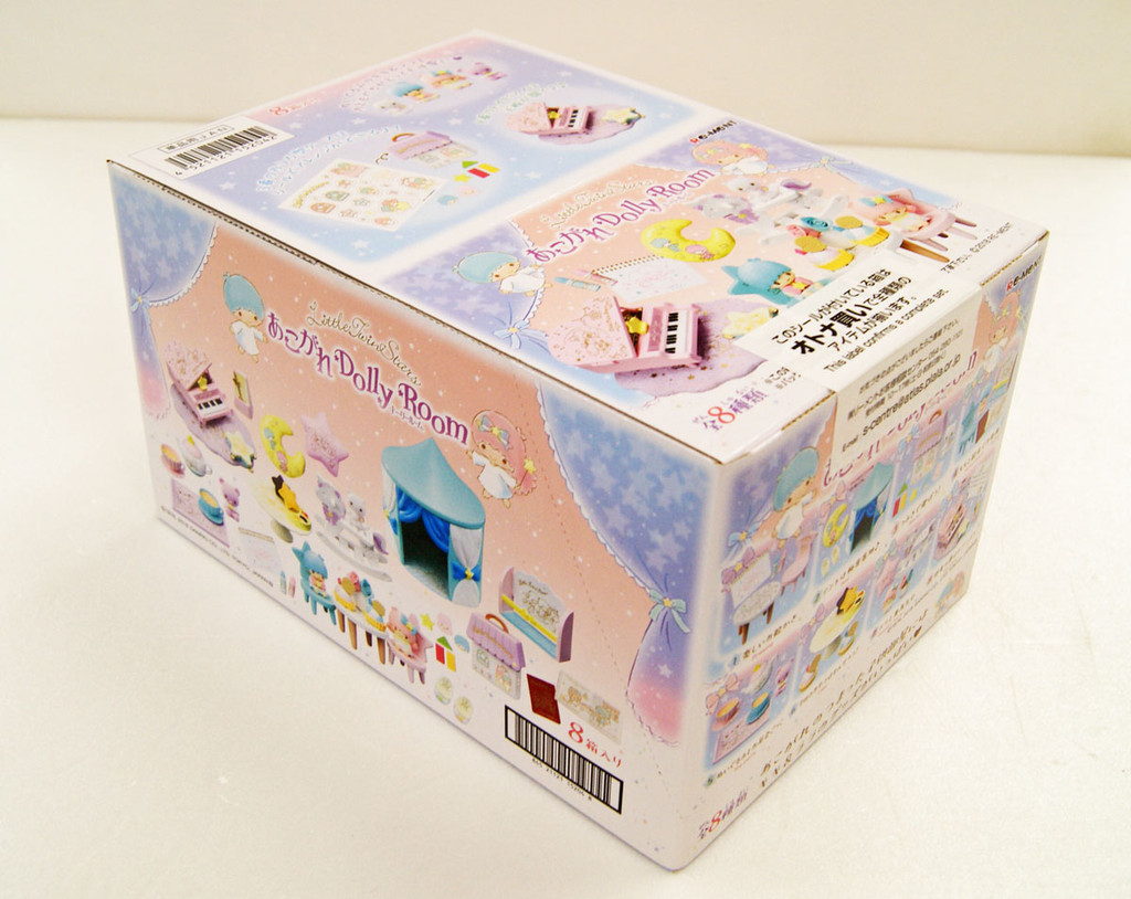 Re-ment 152042 Sanrio Little Twin Stars Dolly Room 1 BOX 8 Figures Complete Set