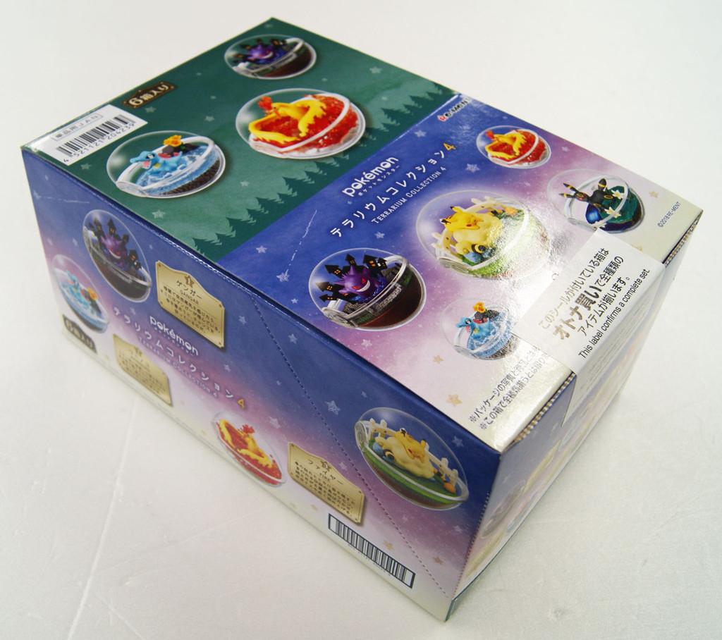 Re-ment 204239 Pokemon Terrarium Collection 4 1 BOX 6 Figures Complete Set