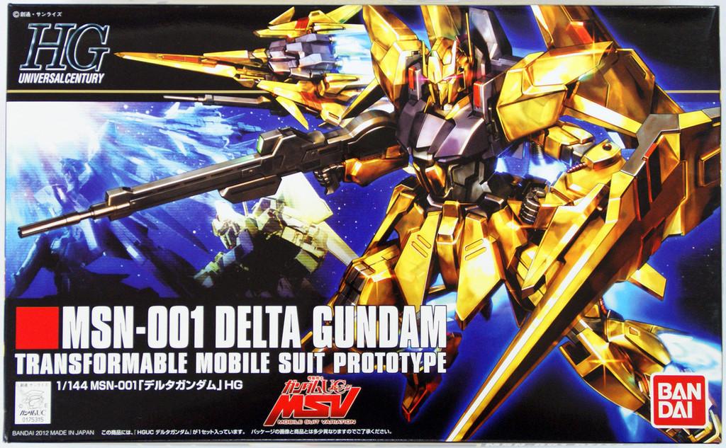 Bandai HGUC 136 Gundam MSN-001 Delta Gundam 1/144 Scale Kit