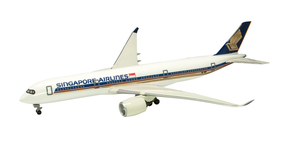 F-toys World's Airline Series 1/500 Scale Singapore Airlines 1 BOX 10 Kits Set