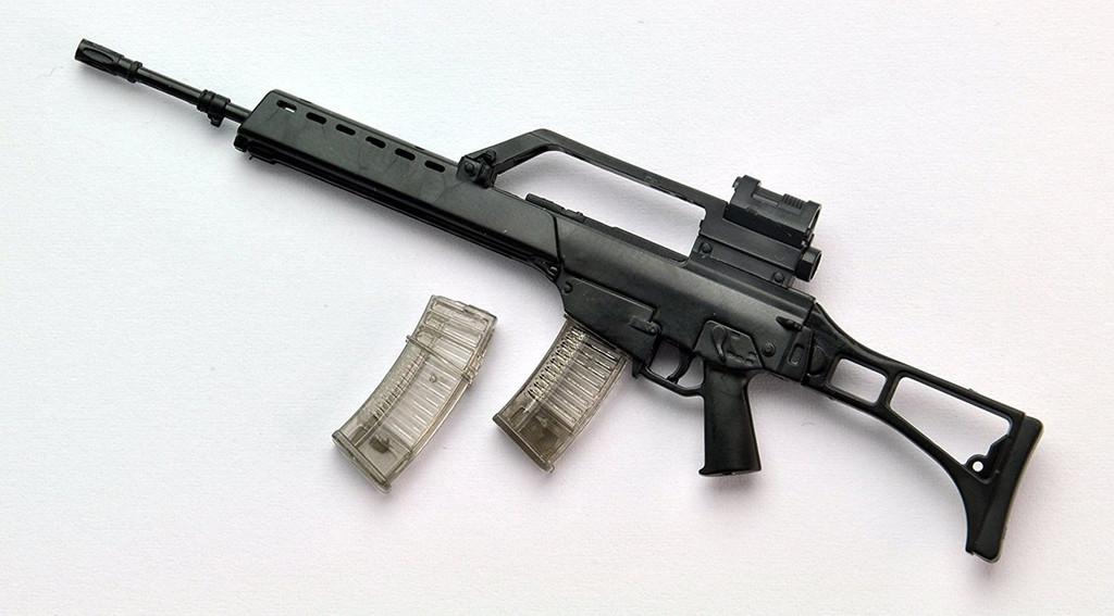 Tomytec LA034 Military Series Little Armory G36 Type 1/12 Scale Plastic Model Kit