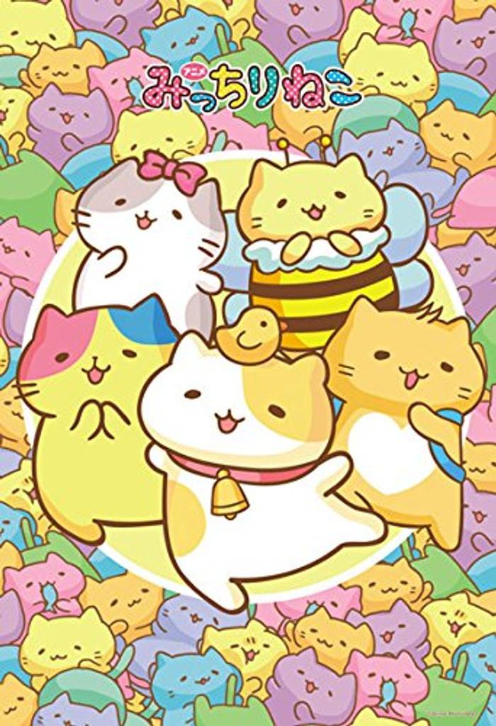 Beverly Jigsaw Puzzle 93-136 Japanese Anime Mitchiri Neko Cat (300 Pieces)