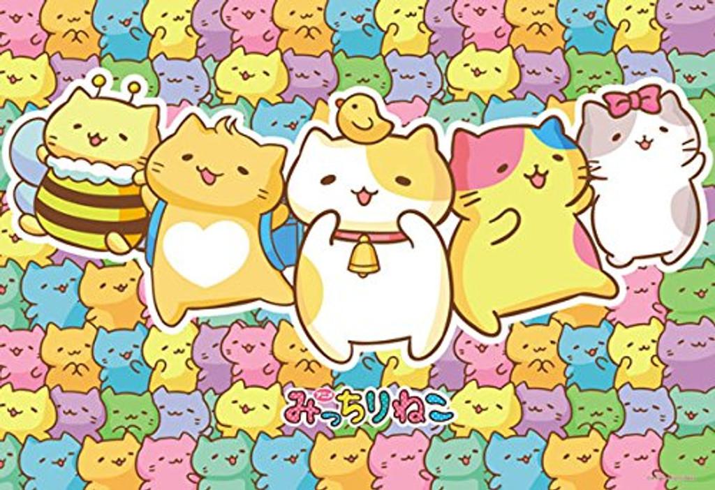 Beverly Jigsaw Puzzle 93-135 Japanese Anime Mitchiri Neko Cat (300 Pieces)