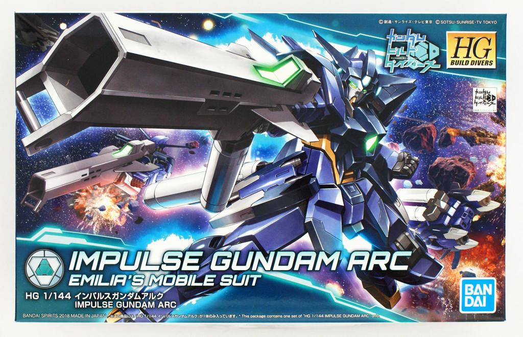 Bandai Gundam Build Divers 017 Impulse Gundam Arc 1/144 Scale Kit