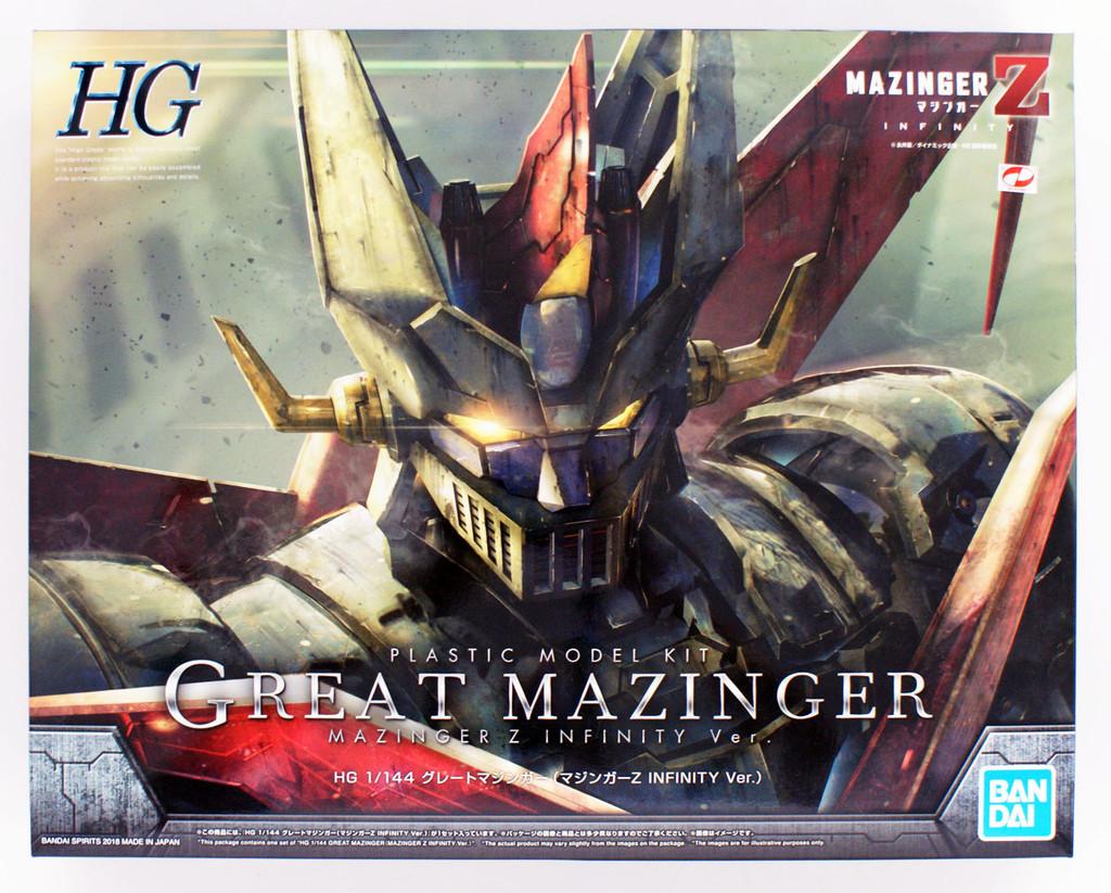 Bandai Mazinger Z Great Mazinger (Mazinger Z Infinity Ver.) 1/144 Scale Kit