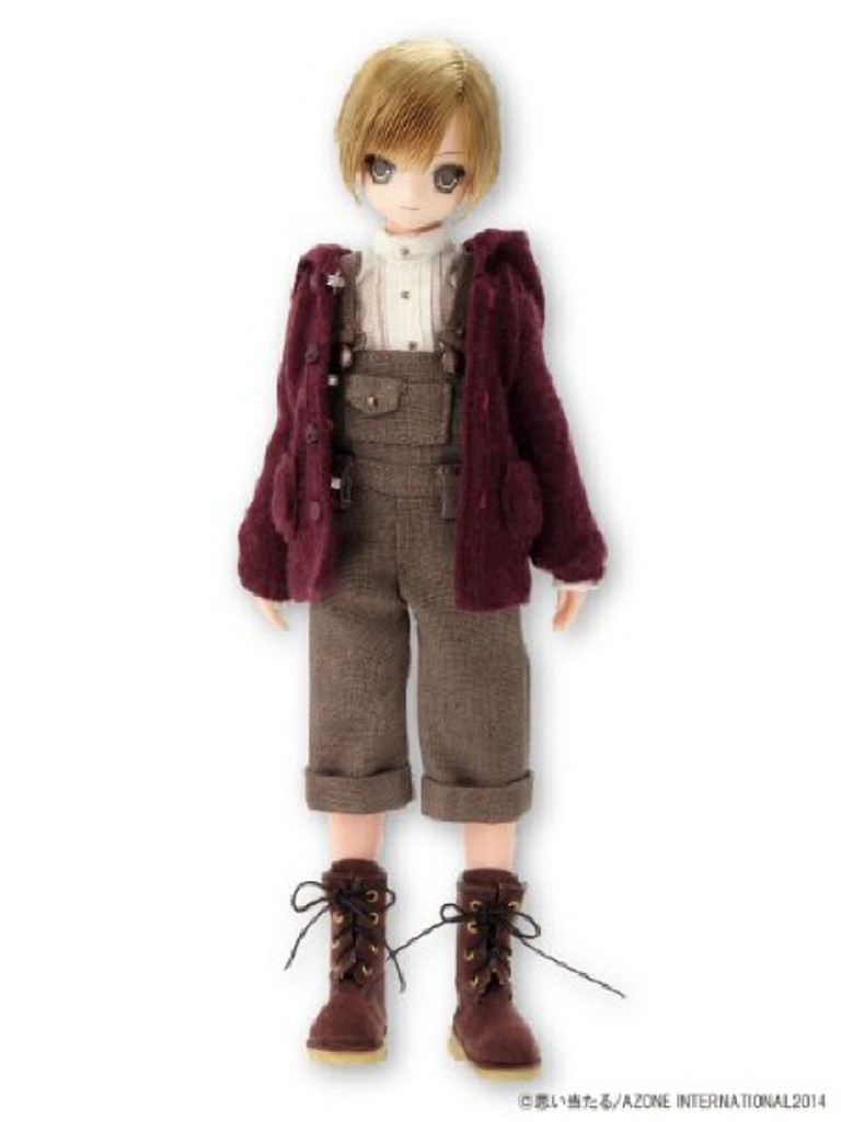 Azone AKT092-BRN Hoko Suede Boots Brown