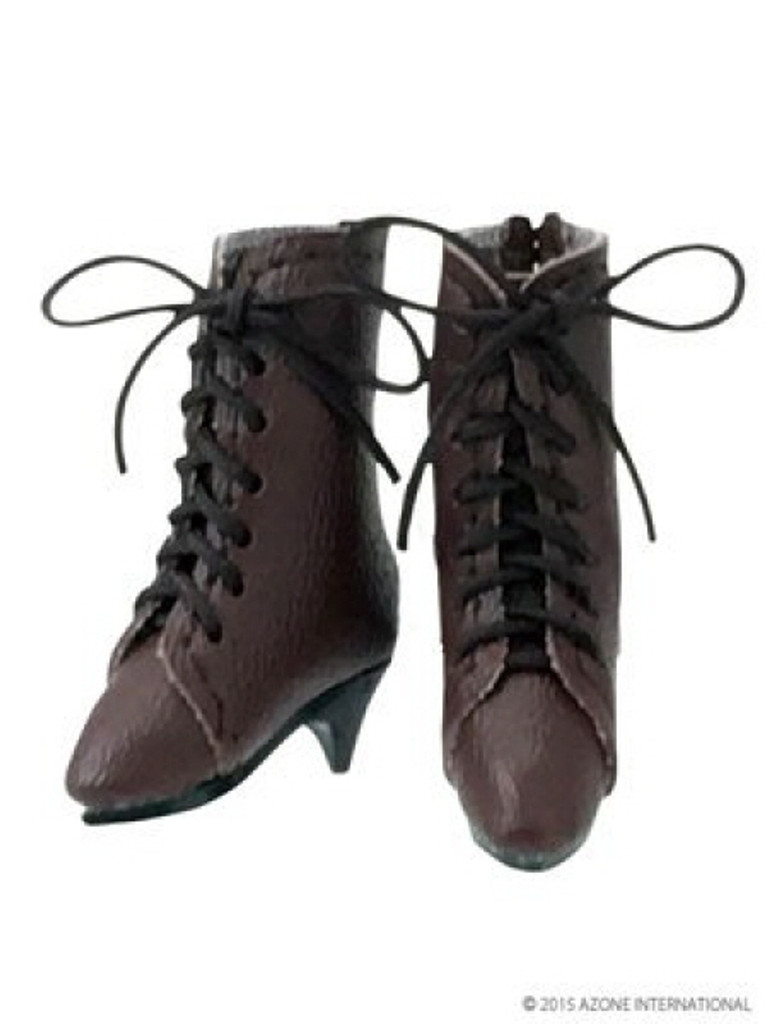 Azone AKT109-BRN PNM Classical Middle Boots Brown