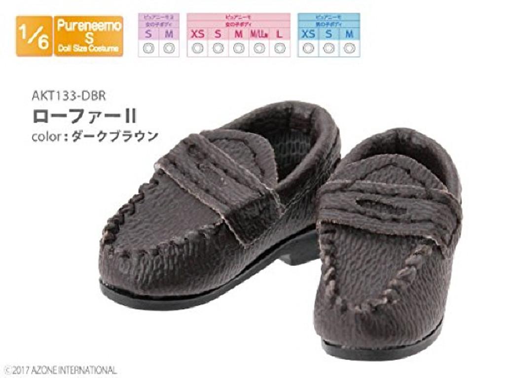 Azone AKT133-DBR Loafer II Dark Brown