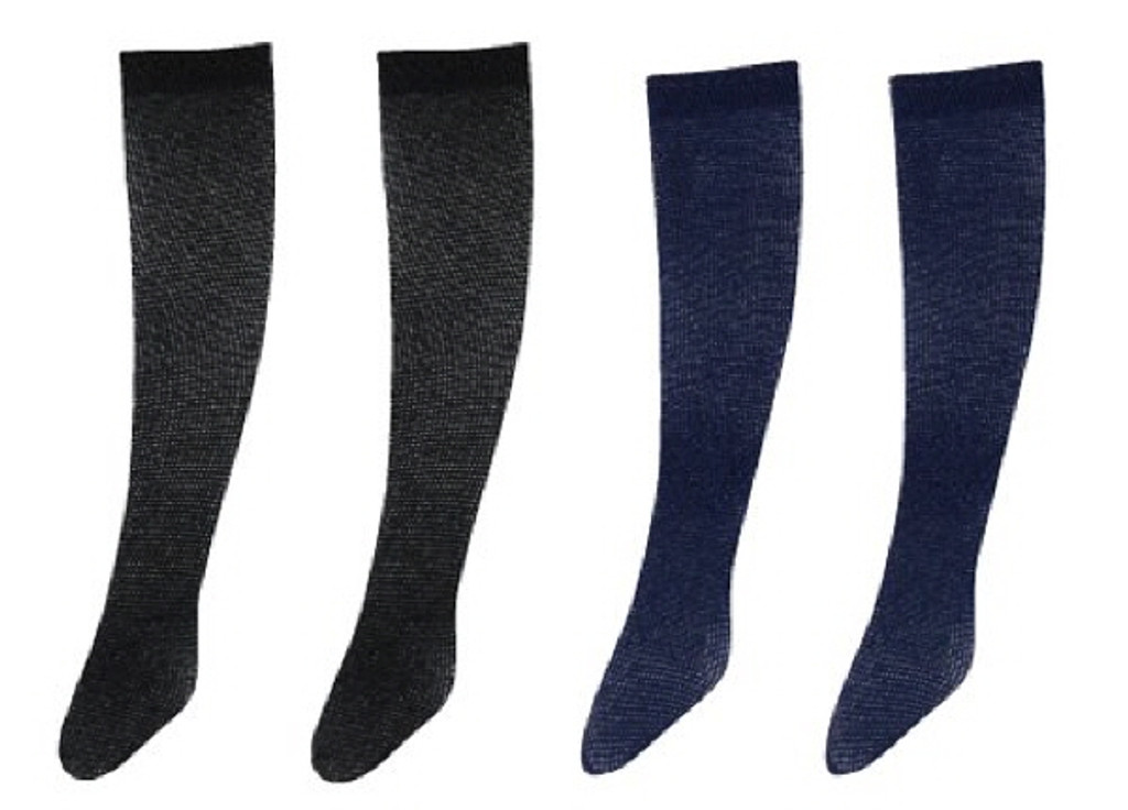 Azone ALB160-ASA PNXS Over Knee Socks A Set Black/Navy