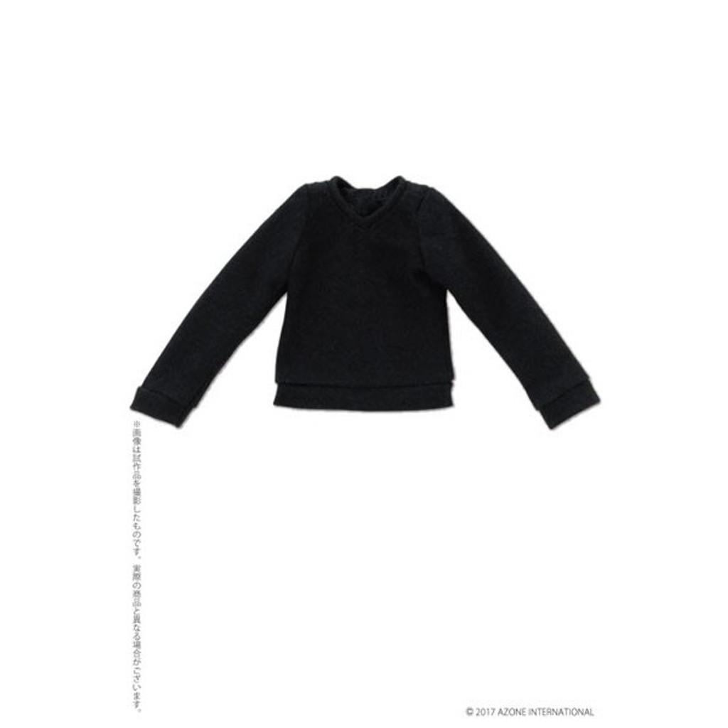 Azone ALB188-NVY PNXS Long Sleeve V Neck Sweater Dark Navy
