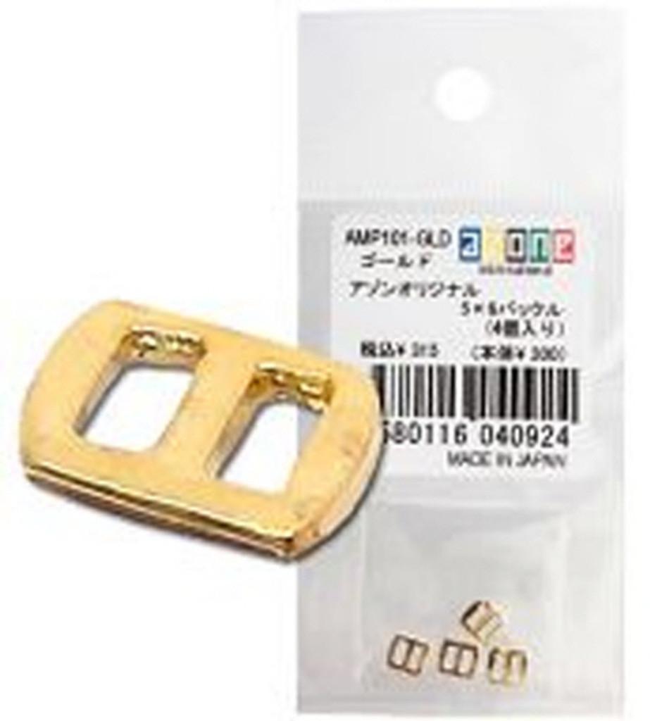 Azone AMP101-GLD Azone Original 5 x 6 Buckle Gold