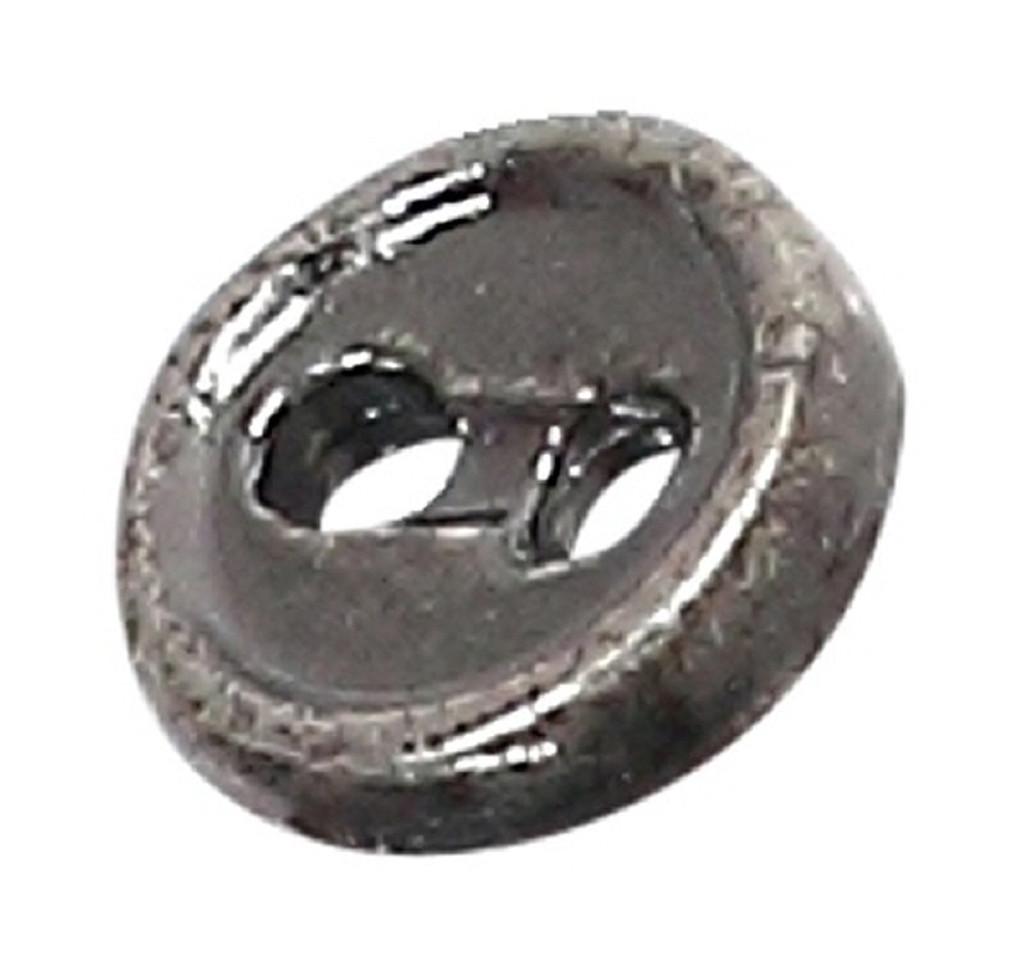 Azone AMP116-ASV Azone Original 4mm Two-Hole Metal Button Antique Silver