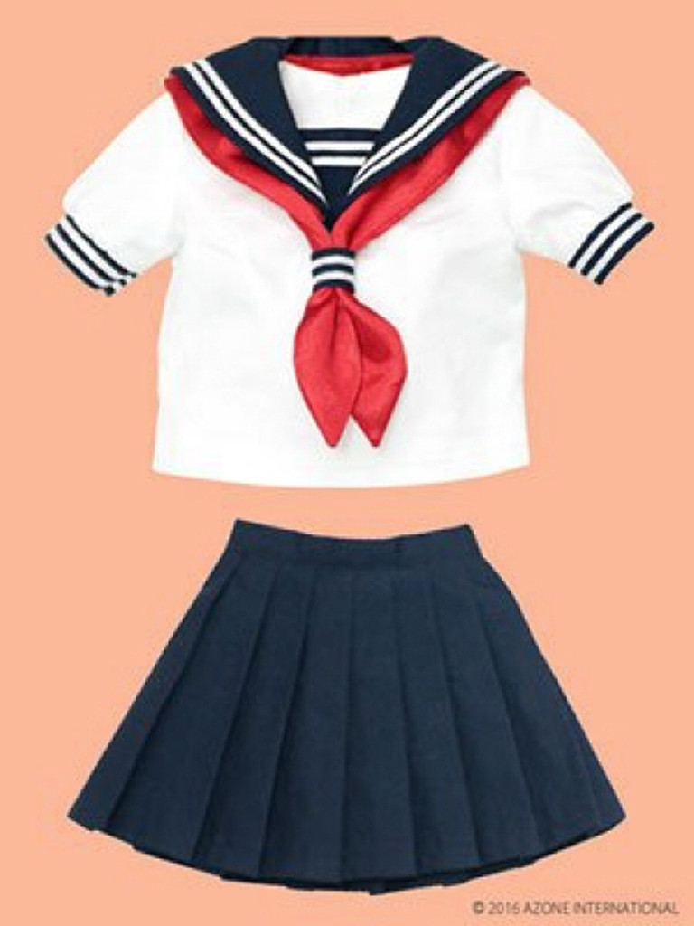 Azone FAO035-NVR Azo 2 Sailor Summer Set Set Navy x Red