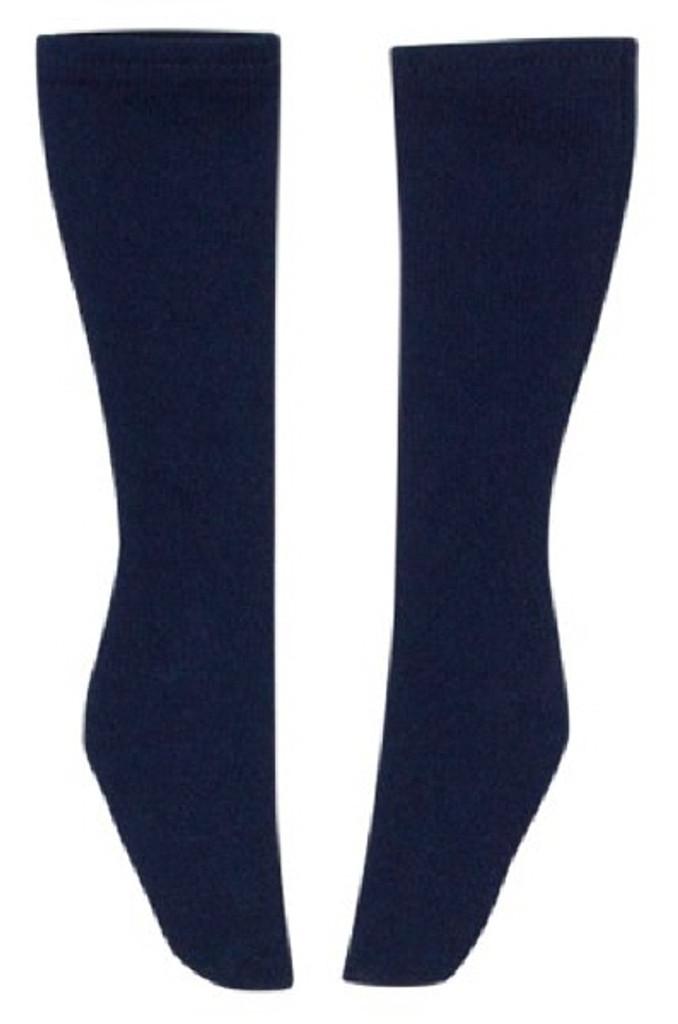 Azone FAO051-NVY Azo 2 School Socks Navy