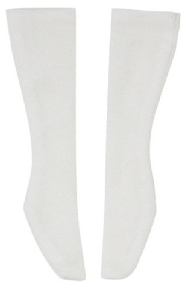 Azone FAO051-WHT Azo 2 School Socks White