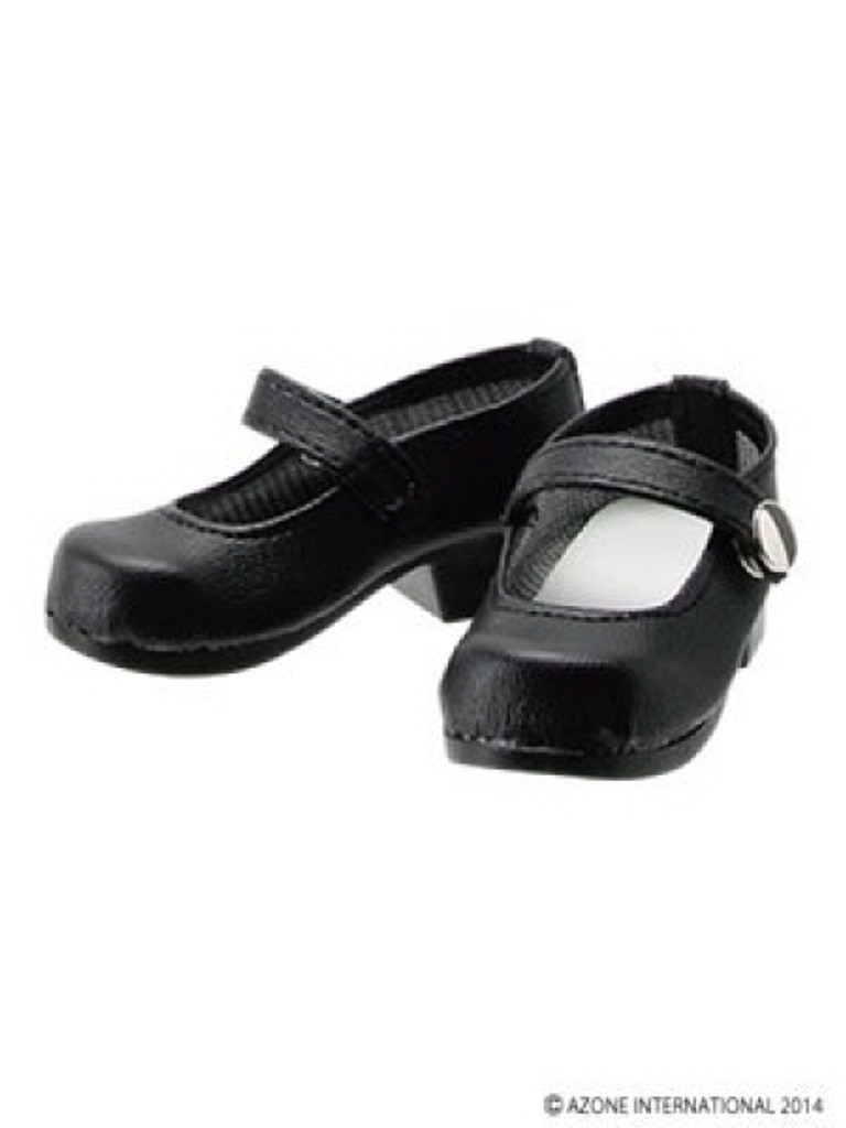 Azone FAR168-BLK for 50cm doll One Strap Shoes Black