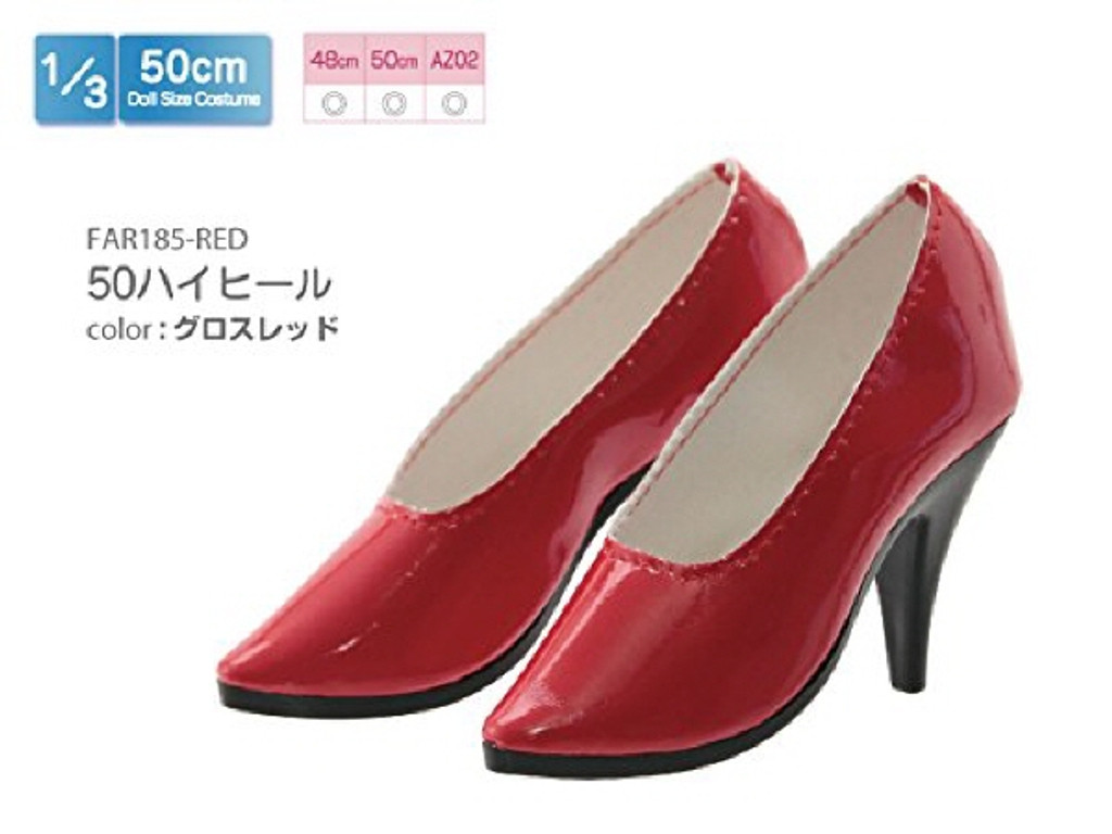 Azone FAR185-RED for 50cm doll High Heel Gross Thread