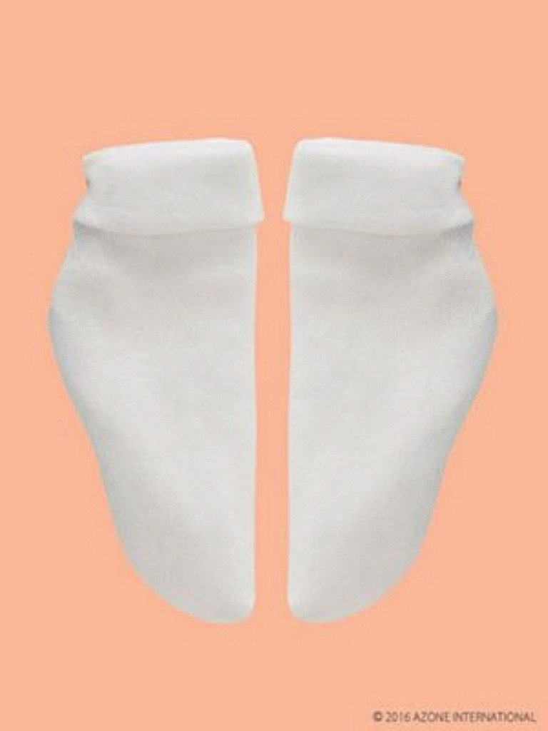 Azone FAR188-WHT for 50cm doll Triple Socks White