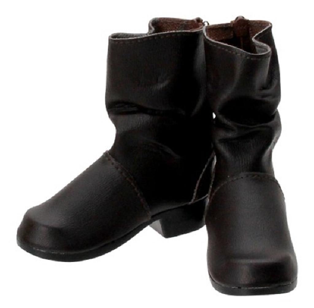Azone FAR199-DBR for 50cm doll Kushunushu Engineer Boots Dark Brown