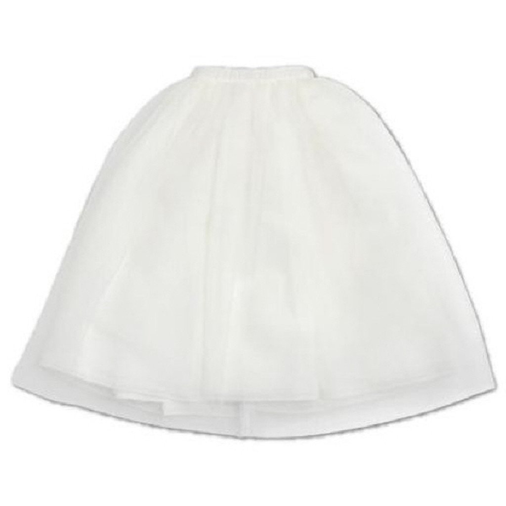 Azone FAR219-WHT for 50cm doll Tulle Skirt White