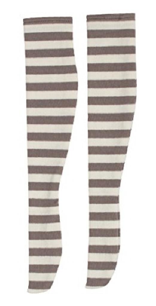 Azone FAR222-WHB for 50cm doll Dark Border Thigh Thighs White x Brown