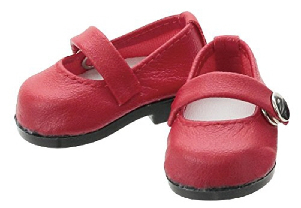 Azone KPT005-RED Mushroom Planet 'Strap Shoes' Red