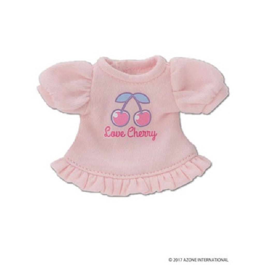 "Azone KPT018-PNK Mushroom Planet ""Love T-Shirt"" Pink"