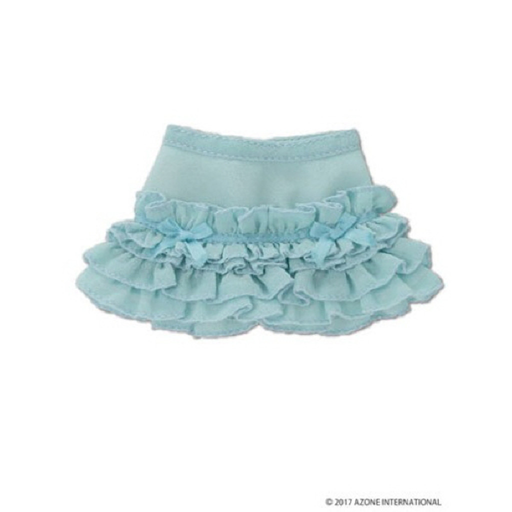 Azone KPT020-LBL Mushroom Planet 'sugar Frill Skirt' Light Blue