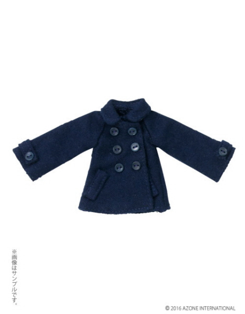 Azone PIC126-NVY 1/12 Picco D Pea Coat Navy