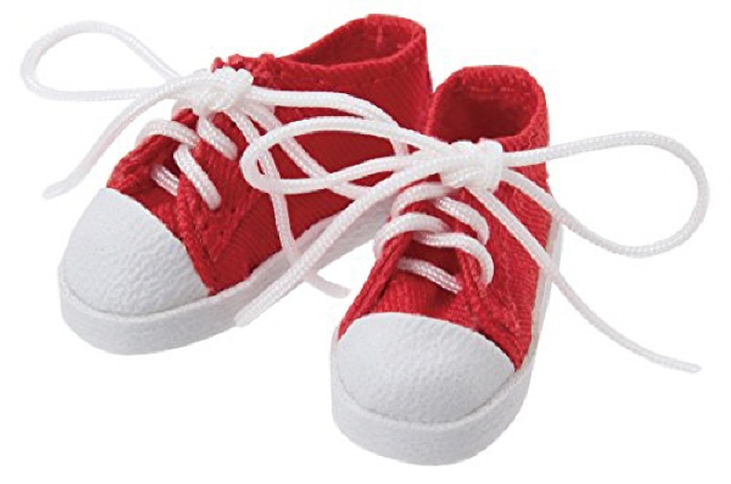 Azone PIC147-RED 1/12 Pico D Low Cut Sneaker Red