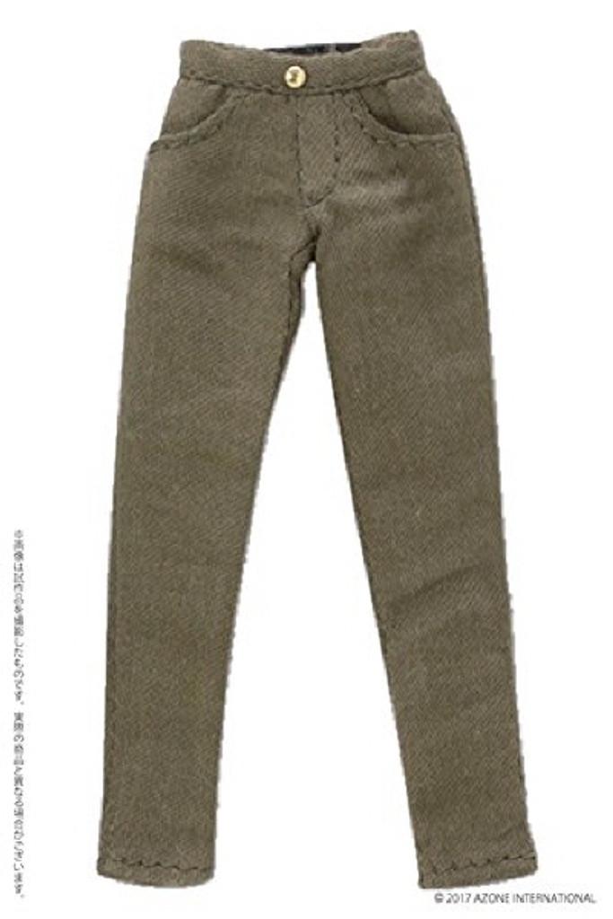 Azone PIC182-KHK 1/12 Slim Pants Khaki