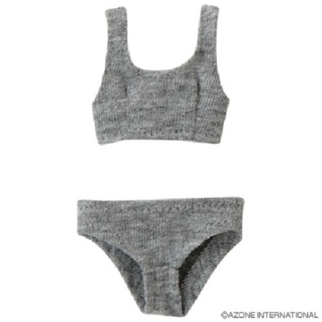 Azone POC242-GRY PNS Sports Bra & Shorts Set Gray