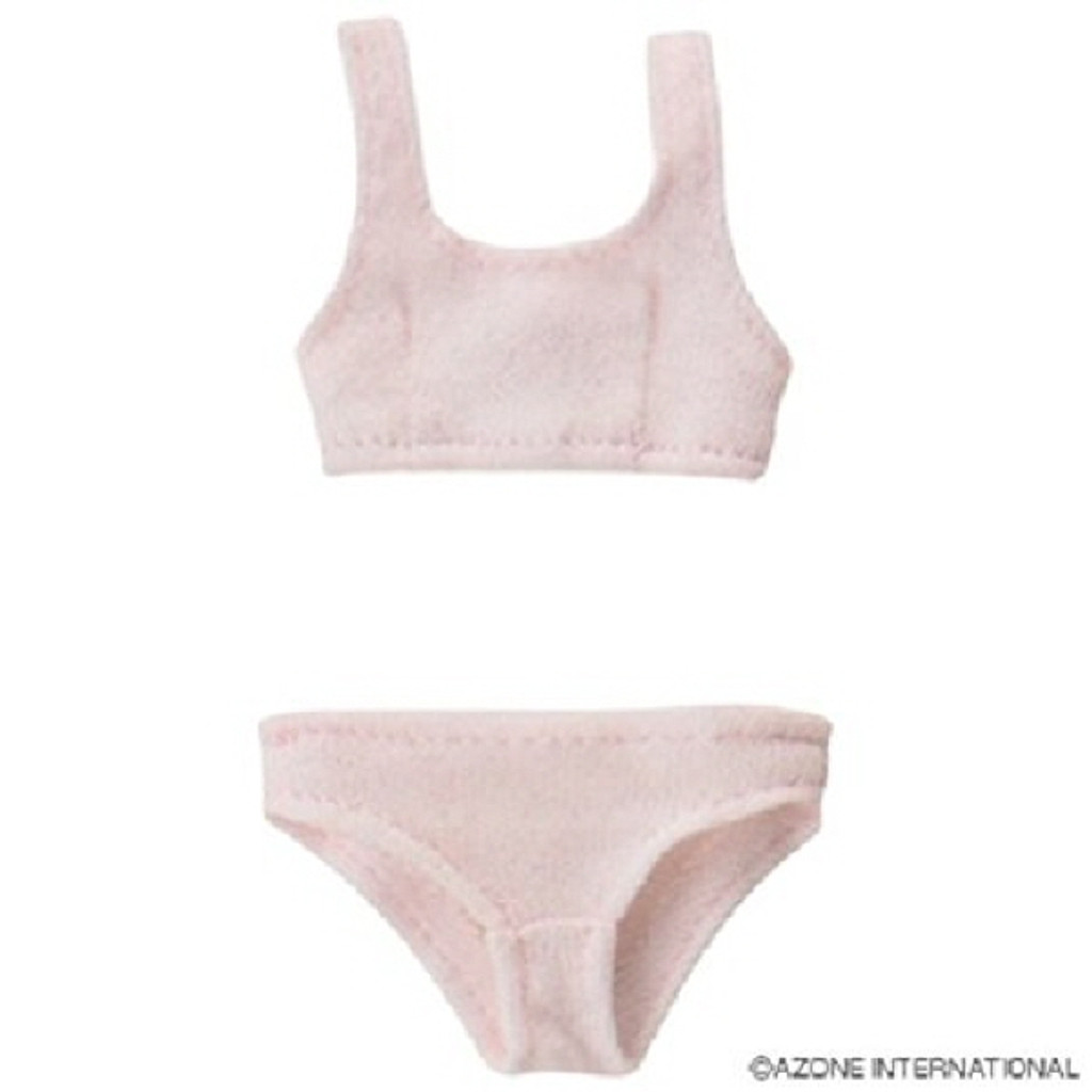 Azone POC242-PNK PNS Sports Bra & Shorts Set Pink