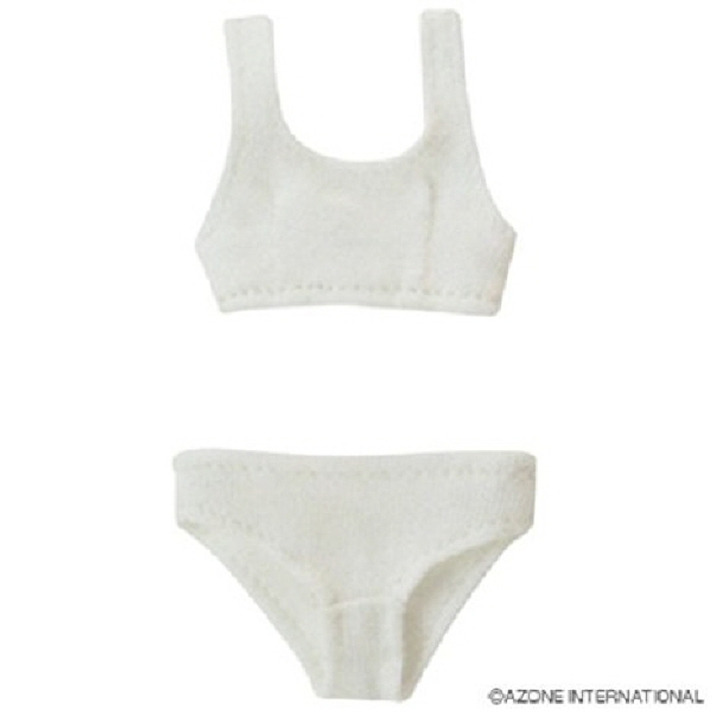 Azone POC242-WHT PNS Sports Bra & Shorts Set White