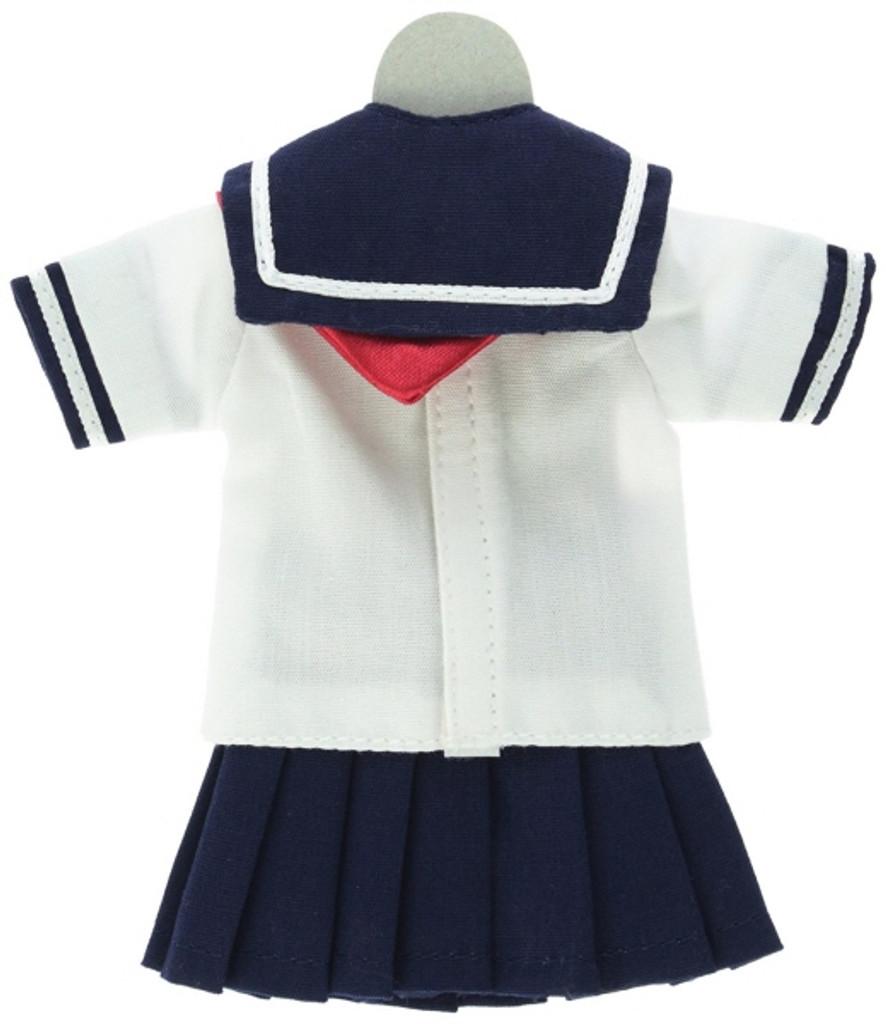 Azone POC307-NVR PNS Short Sleeve Sailor Uniform Ribbon & Tie Set Navy x Red