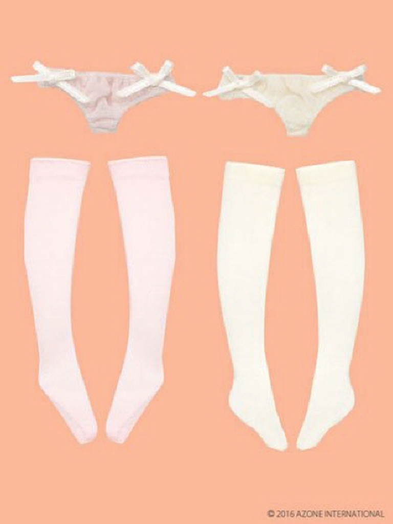 Azone POC376-ASA PNS See-Through Punch & Socks Ii A Set Pink / Cream