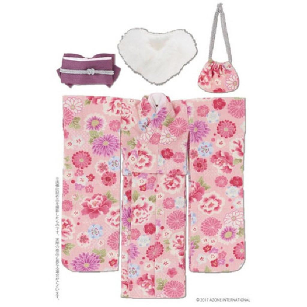 Azone POC431-PNK PNS Kimono Set Pink