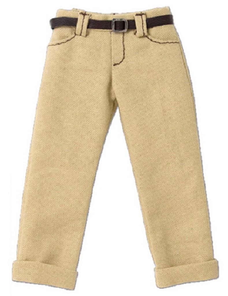 Azone POC436-BGE PNS Boy Low Rise Cropped Pants Beige