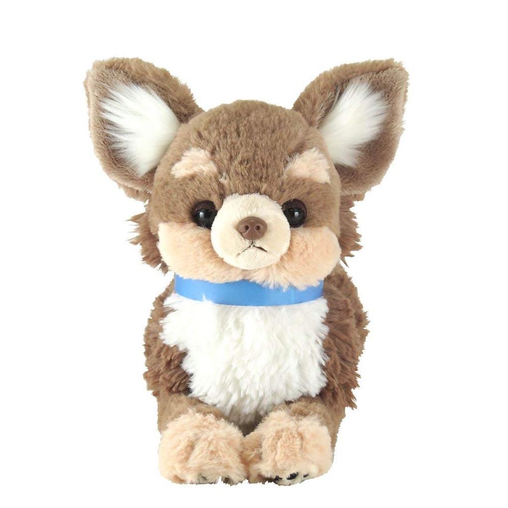Sunlemon Plush Doll Hiza Wanko Chihuahua Brown